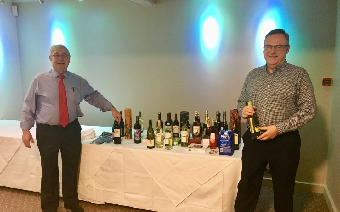 Streetly Auction Raises Hundreds for President's Charities