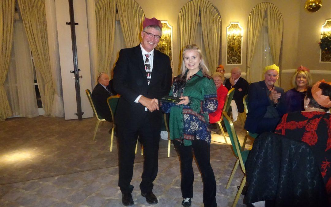 Bursary Award At Sutton Coldfield Circle