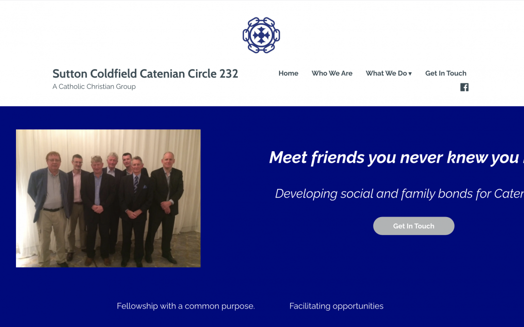 Sutton Coldfield  Circle Launches Its Website